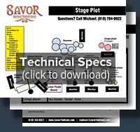 Savor Technical Specs
