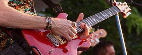 PRS Santana Signature model guitar
