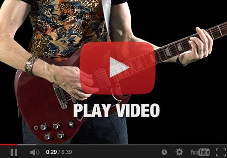 Screenshot of Michael with Gibson SG Guitar