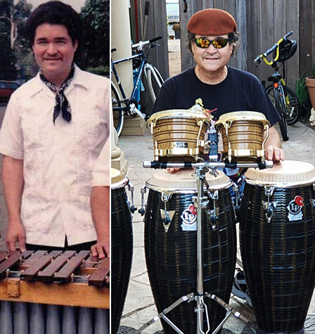 Young Lorenzo with Marimba, and now on Congas