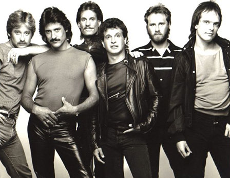 Steven with '80s band Dreamer