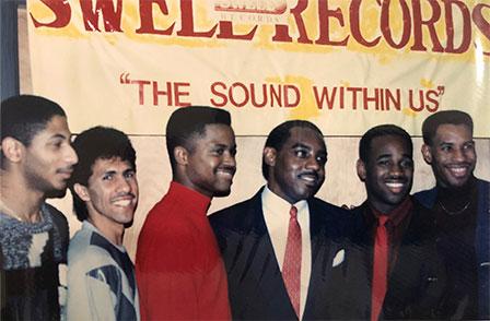 David in band photo