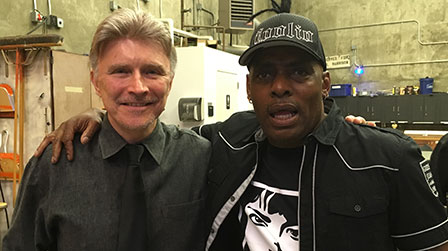 Billy with Coolio